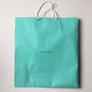 Handbags - Tiffany & Co extra large shopping bag
